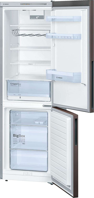 + 186/cm de hauteur A 227/kWh//an//capacit/é du r/éfrig/érateur 215/l//capacit/é du cong/élateur 94/l//refroidit de mani/ère tr/&egrav Bosch R/éfrig/érateur-cong/élateur KGV36VE32S