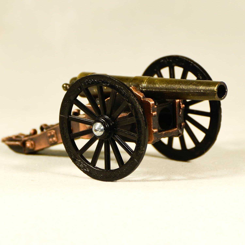 Metal Die Cast Civil War Cannon Sharpener - Miniature Rare Collectible Figurine SB