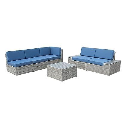 Amazon.com : Netdooo 2018 Outdoor Patio Furniture Sofa ...