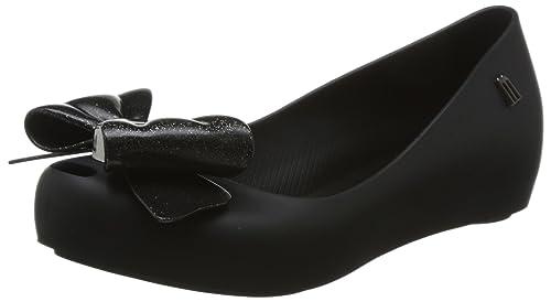 MINI MELISSA - Mocasines para niña Negro Size: 28/29 EU: Amazon.es: Zapatos y complementos