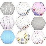 Spannbettlaken für 6-eck Laufgitter Matratze 120x105 cm Baby Kinder Laufstall Baumwolle D22