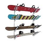 StoreYourBoard Horizontal Multi Ski Wall Rack