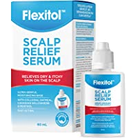 Flexitol Scalp Relief Serum for Itchy Scalp with 2% Colloidal Oatmeal, 2 Ounce
