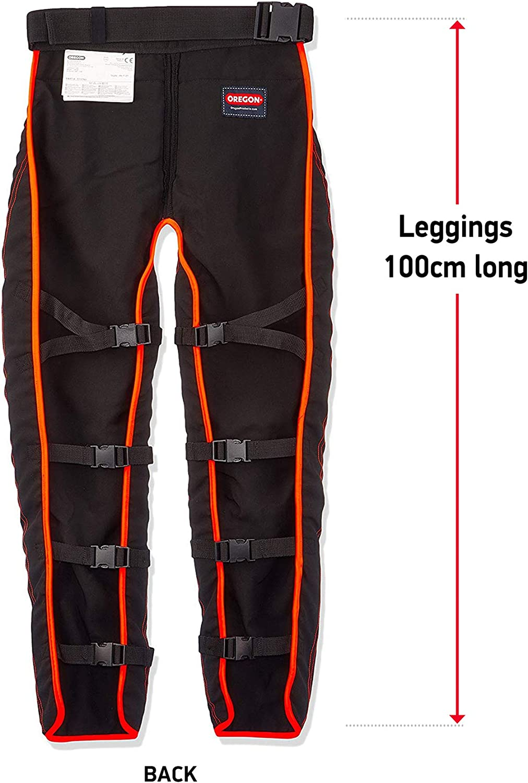 OREGON universale tipo A Chainsaw Oregon Scientific pantaloni di sicurezza senza soluzione di continuit/à ghette//Protection prima 575780
