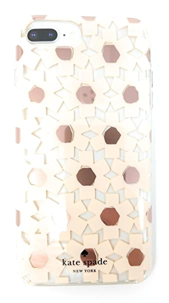 buy online d808c e018f Kate Spade Clear Protective Case With Pink Flowers, For iPhone 8 Plus, 7  Plus, 6s Plus, 6 Plus,
