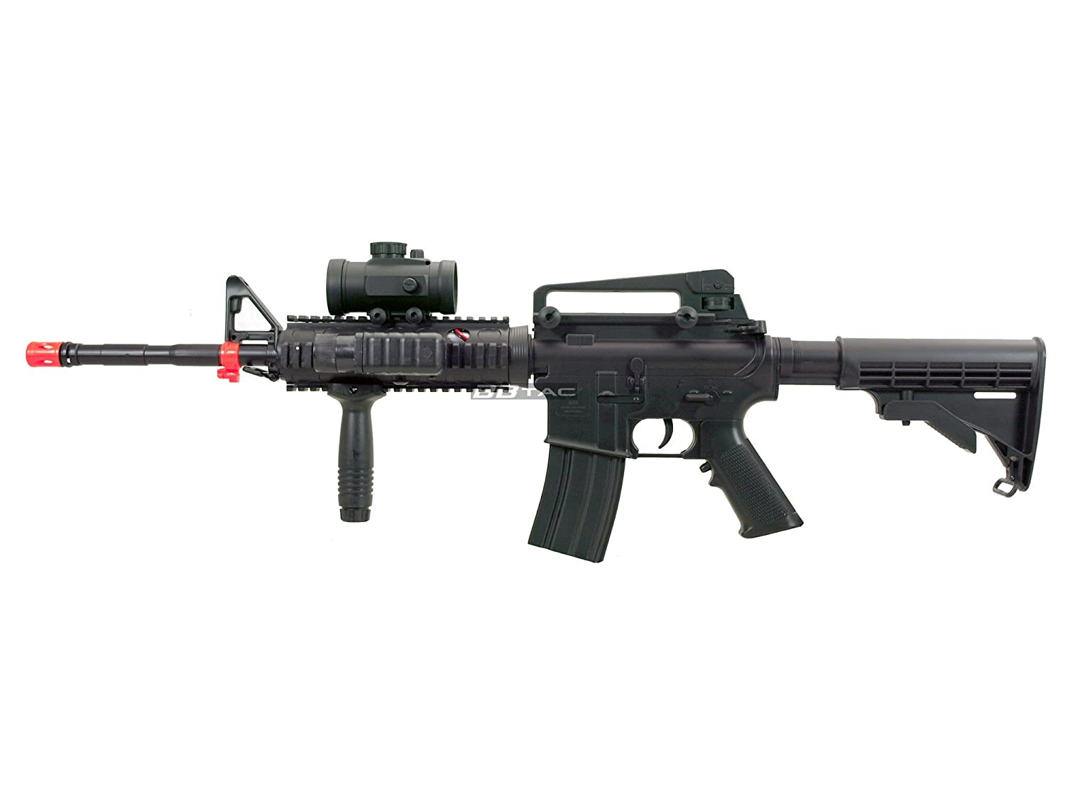 Amazon Com Bbtac M4 M16 Replica Airsoft Gun M83 A2 Electric Rifle