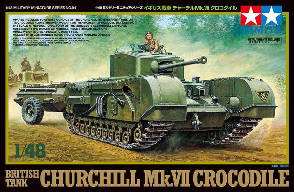 Tamiya 1//48 British Tank Churchill Mk.VII 32594-000