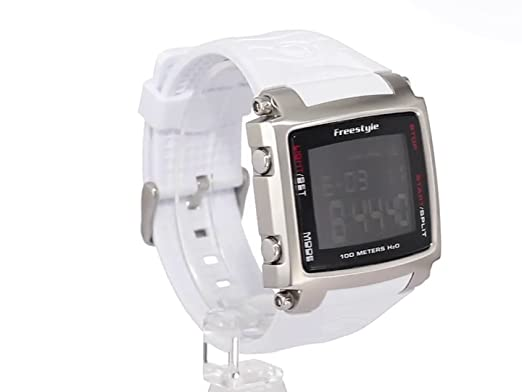 Amazon.com: Freestyle Mens FS81320 The Lopex III Custom Square Corey Lopez World Time Zone Digital Watch: Freestyle: Watches