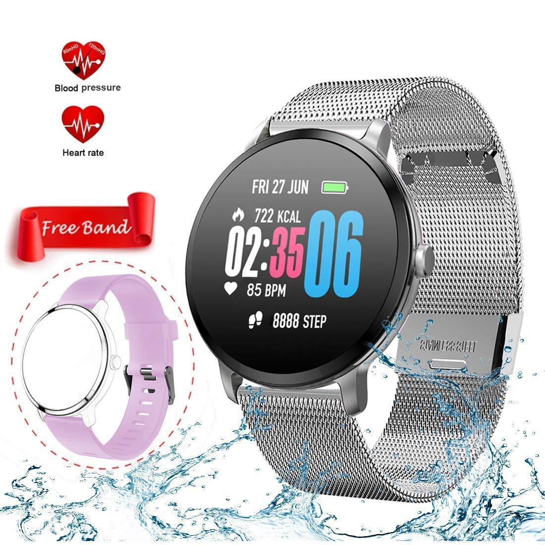 Mrsix Pulsera Actividad Smartwatch Inteligente Reloj Deportiva ...