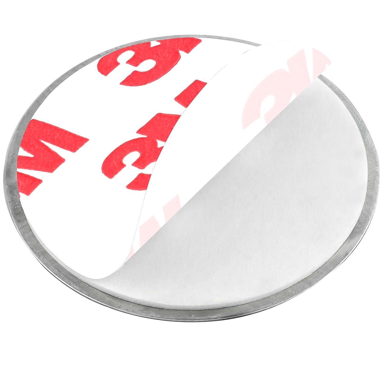 mumbi 5er Set Magnetbefestigung f/ür Rauchmelder und Mini-Rauchmelder Magnet Befestigung f/ür glatte Fl/ächen NICHT f/ür Rauhfaser oder losen Putz