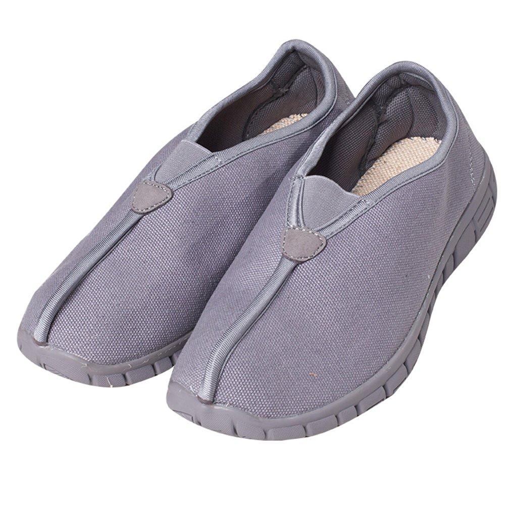 ZOOBOO budista doble–Zapatos de monje Shaolin artes marciales zapatos Kung Fu Zapatillas suela de goma antideslizante calzado transpirable y cómodo para UNISEX