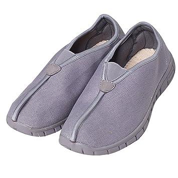ZOOBOO budista doble - Zapatos de monje Shaolin artes marciales zapatos Kung Fu Zapatillas suela de goma antideslizante calzado transpirable y cómodo para ...