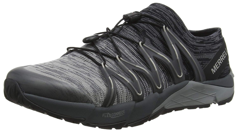 Merrell Bare Access Flex Knit, Chaussures de Fitness Homme Noir (noir noir) 41 EU