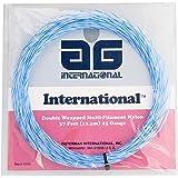 AG Multifilament Tournament Nylon Tennis String Set-Blue Spiral