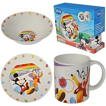 Dingo Repas Dejeuner Set Enfant Coffret Mickey Disney Et hQsdtrC