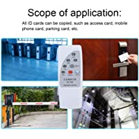 RFID Reader Writer, Hand Multi Frequency Identification RFID ID Card Access Control Copy Machine Reader Kit for Access Control System, 10Pcs