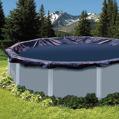 Amazon.com : In The Swim 15 ft Round Above Ground Pool Leaf Net ...