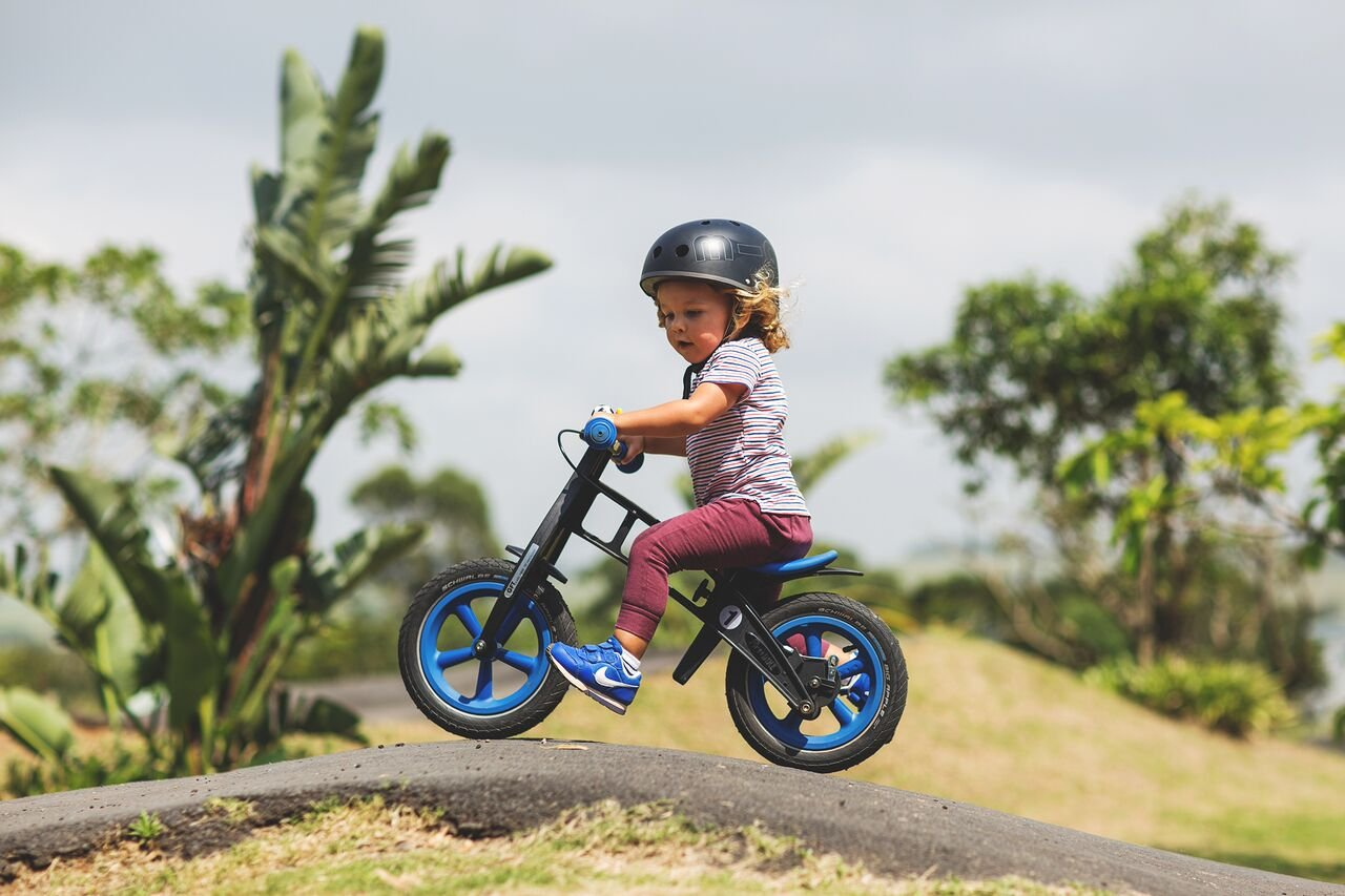 48f1ff53b34 Amazon.com: FirstBIKE Limited Bike with Brake, Blue: Toys & Games