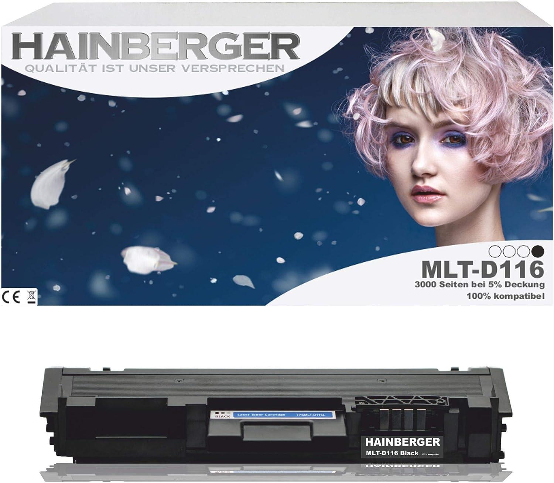Hainberger Xxl Toner Für Samsung Mlt D116l 3000 Seiten Elektronik
