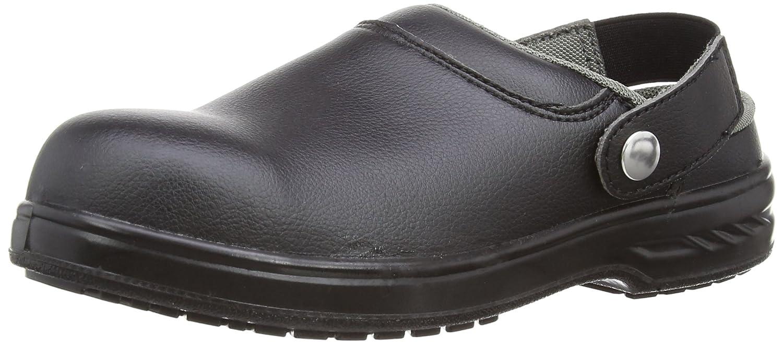 Portwest FW82 Sandalo di Sicurezza SB AE WRU, Scarpe da Lavoro Unisex-Adulto, Nero (Nero Bkgr), 34 EU