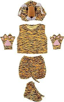Set de Disfraces de Tigre para Historia Zoológico Desfile ...