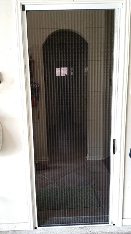 Greenweb Retractable Screen Door 34 Inch By 82 Inch Kit