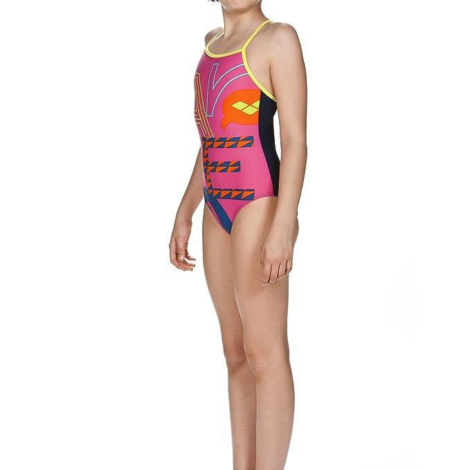 fe9eb504f4a0 arena Folks - Costume da Bagno, da Ragazza: Amazon.it: Abbigliamento
