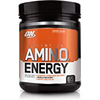 Optimum Nutrition Amino Energy Orange Anytime Energy and Amino Acids, 65 Servings