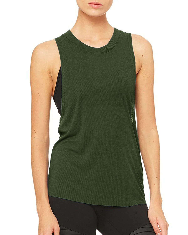 9009ca1ea89ec Top12  SUNNYME Women Yoga Tops Activewear Running Workouts Clothes Yoga  Racerback Tanks