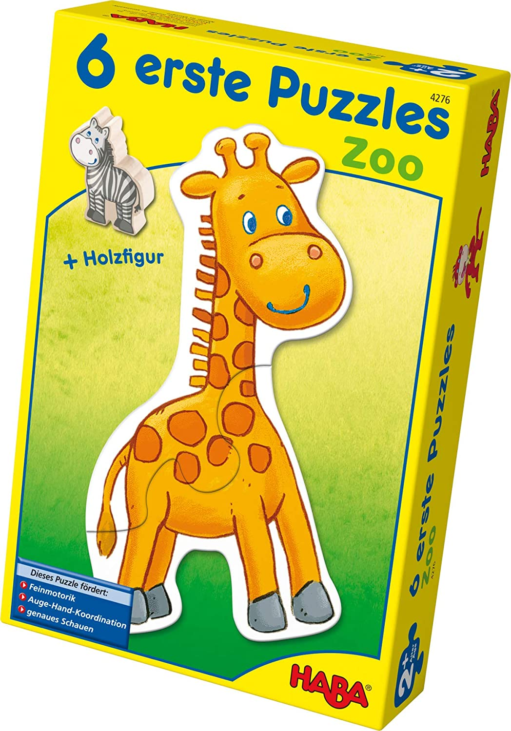 HABA 4276 6 Little Zoo Hand Puzzle