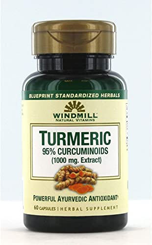 Windmill Turmeric, 60 Capsules Pack of 2