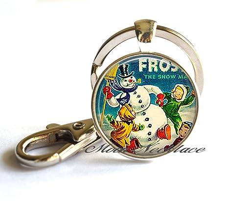 Frosty el muñeco de nieve llavero, llavero, llavero, diseño ...