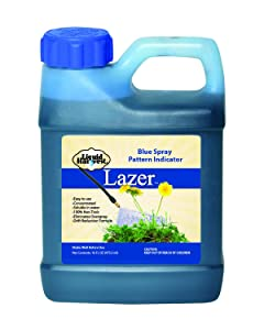 Liquid Harvest Blue Concentrated Spray Pattern Indicator - 16 Ounces - Perfect Weed Spray Dye, Herbicide Dye, Fertilizer Marking Dye, Turf Mark and Blue Herbicide Marker