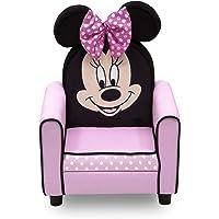 Delta Children Figural Upholstered Kids Chair, Disney Minnie Mouse