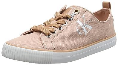 Calvin Klein Jeans Damen Dora Canvas Sneakers, Pink (Dsk), 35 EU