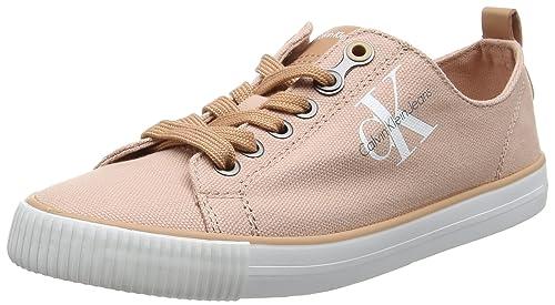 Calvin Klein Jeans Dora Canvas, Zapatillas para Mujer: Amazon.es: Zapatos y complementos