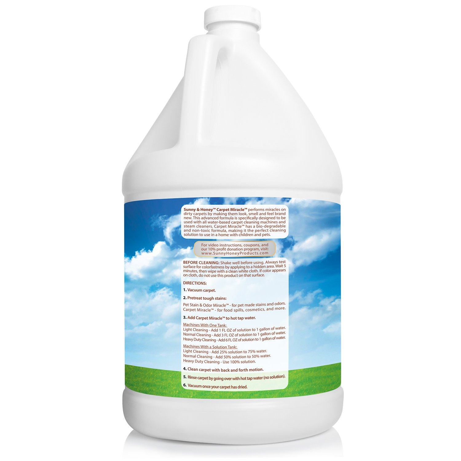 Amazon Carpet Miracle Carpet Cleaner and Deodorizer Solution