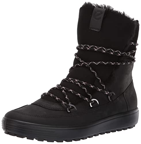 d6cdc33f ECCO Womens Soft 7 Tred Mid, Women's High Boots: Amazon.co.uk: Shoes ...