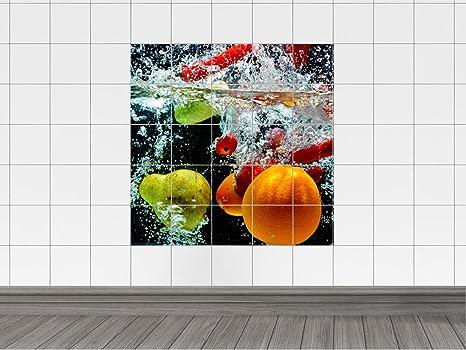 Piastrelle adesivo piastrelle immagine: frutta e verdura bagno