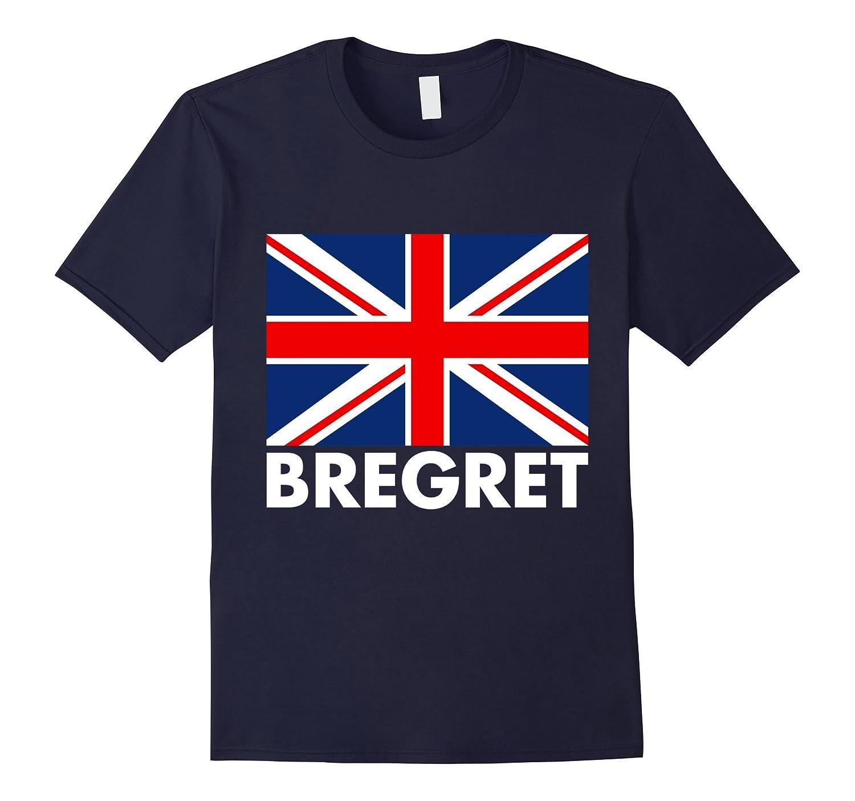 Brexit Regret Bregret British Flag Leave EU T-Shirt-BN