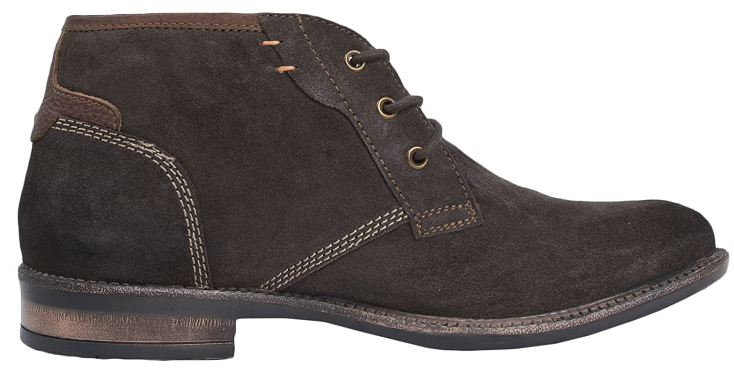 Strong Souls Mens Full Suede Leather Desert Boots Lace Up Ankle Boots  Brogues Casual Shoes Size UK 7-12: Amazon.co.uk: Shoes & Bags