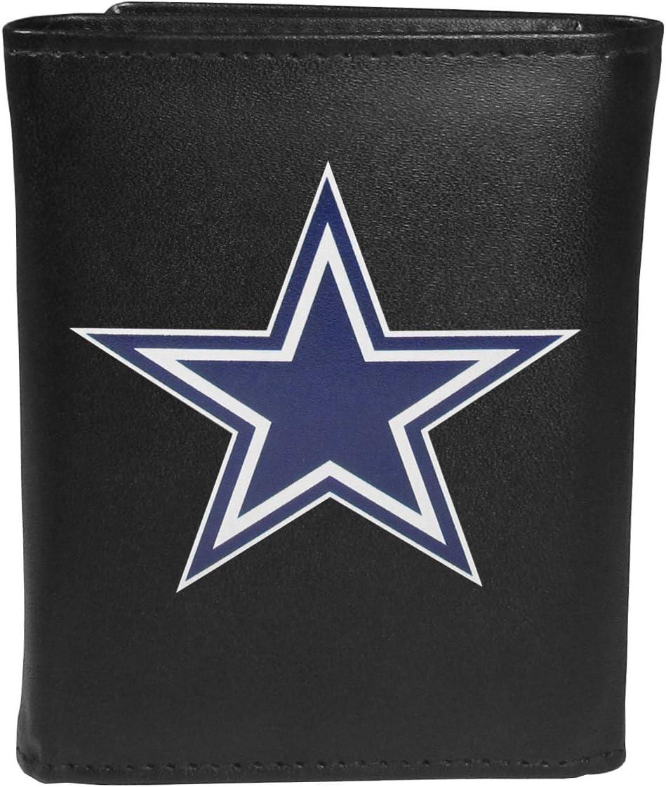 Siskiyou NFL unisex Tri-fold Wallet Large Logo