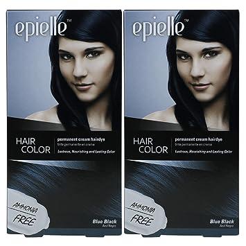 Amazon Com Kareway Epielle Hair Color For Women Blue Black Pack
