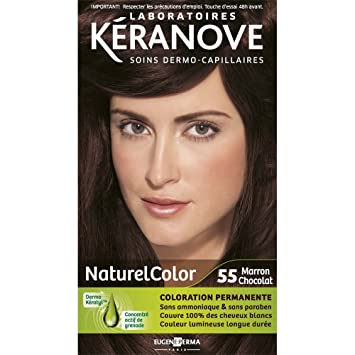 laboratoires kranove coloration permanente naturelcolor 55 marron chocolat - Marron Chocolat Coloration