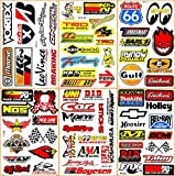 #1: Cars Motorsport Nos Gulf Hot Rod Nascar Drag Racing Lot 6 Vinyl Graphic Decals Stickers D6094
