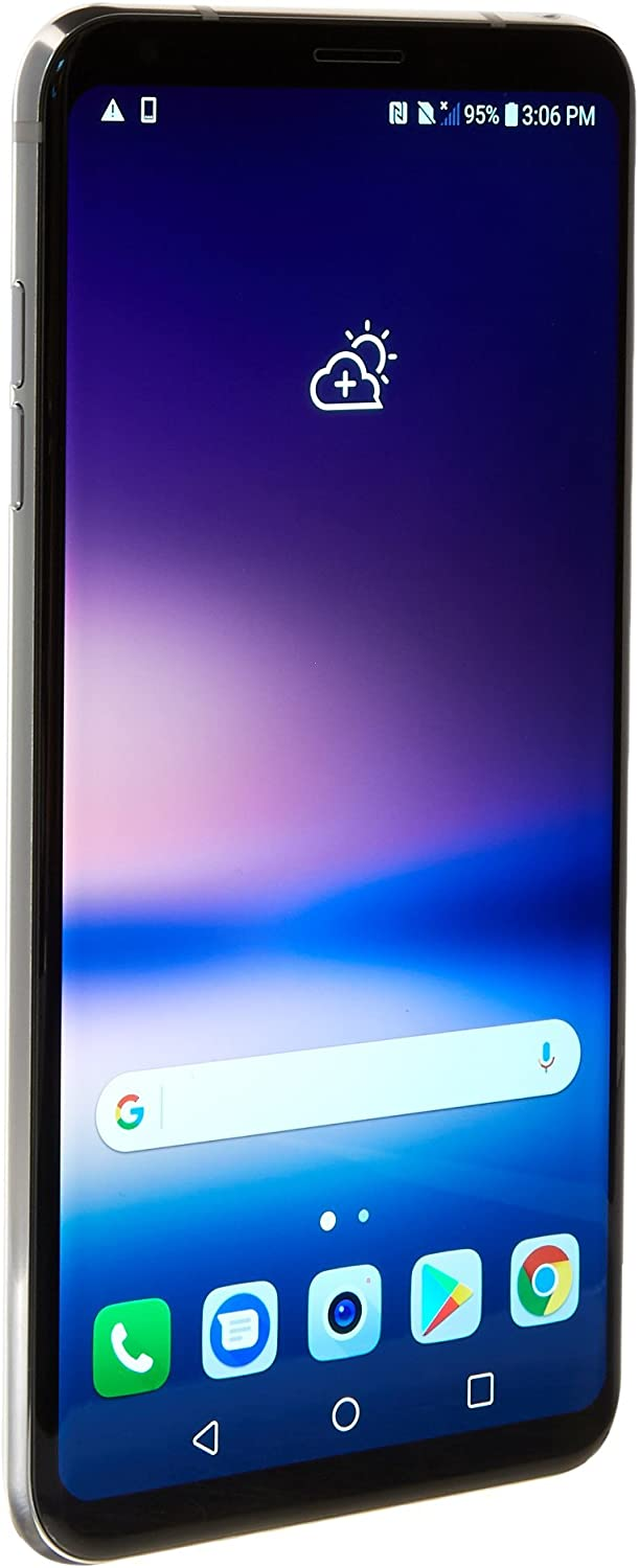 LG V30 H932 Dual Camera 4G LTE 64GB Silver (GSM Unlocked)(Renewed)
