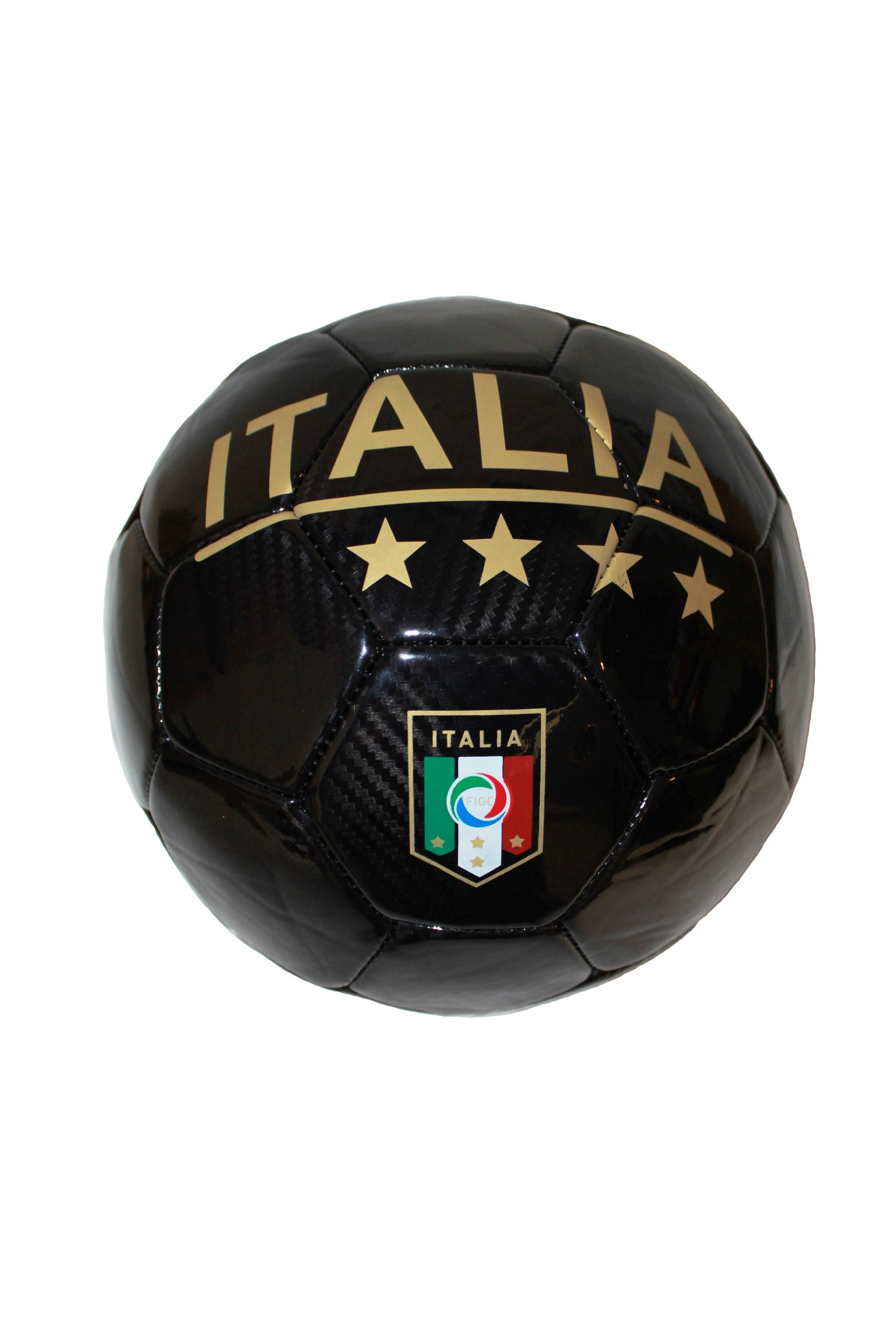 Italia Italy Black FIGC Logo FIFA World Cup Soccer Ball Size 5. New