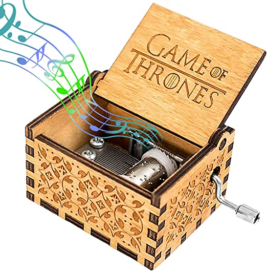 Caja de música de Madera, Game of Thrones Pure Hand-classical Caja ...