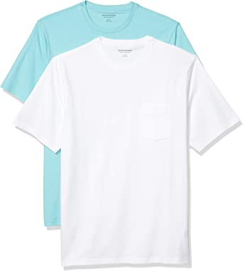 Mens New Crew Neck T-Shirt 100/% Cotton 2 or 3 Pack Short Sleeve Tee Regular Fit