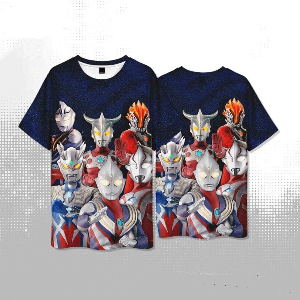 CCL8 Camiseta Japonesa clásica ATM con diseño de Robot y Monstruo Anime, Camiseta de Verano Informal de Secado rápido para niños Negro Negro (L: Amazon.es: Ropa y accesorios